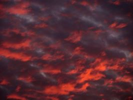 Under Red Clouds by helice93
