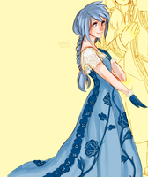 Kingdom Hearts AU - Fancy Pirate Aqua by Kirabook