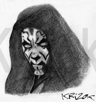 Darth Maul by krizok