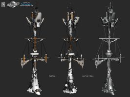 Galleon Mast by boyluya