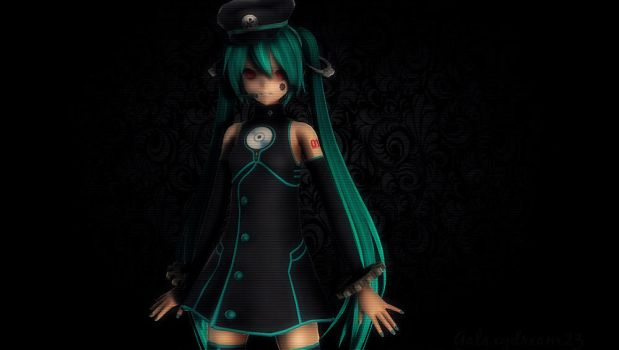 MMD//FactoryNight by GalaxyDream23