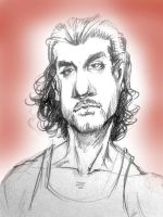 Sayid from LOST by MeGook