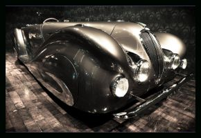1937 Delahaye 135MS Roadster by ZhoraQ
