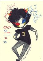 Sollux Captor chibi by TravelersDaughter