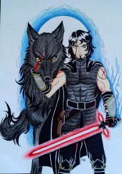 Kylo Ben by LuarSoulwolf