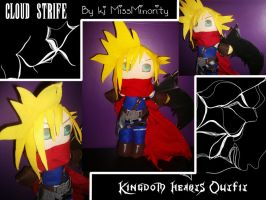 Cloud Plushie by MissMinority