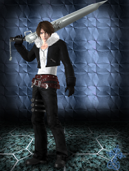 Squall Leonheart [XPS] by LexaKiness