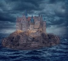 Ocean-castle by juhilarkin
