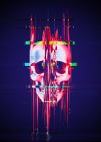 Glitch Skull - Full Format by Rafael-De-Jongh
