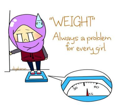 Weight always a problem for every girl by fardiyah