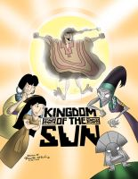 DISNEY POSTER Kingdom of the Sun - Ryan R. Nitsch by RyanNitsch