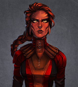 SWTOR: Shaisha by CPatten
