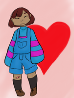 a small frisk by shinyshuppet