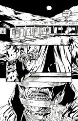 CANDLE MAN Page 1 Inks by KurtBelcher1