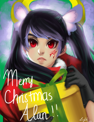 Merry Christmas Alan by lypotatoes