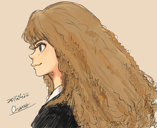 Hermione Jean Granger by chacckco