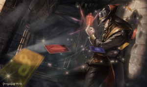 Twisted Fate Wallpaper by dreaming-myth