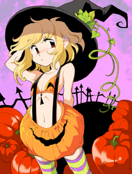 pumpkin costume but slightly different by Clovejar