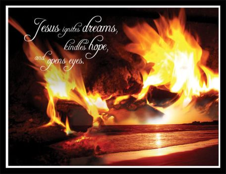 Jesus Ignites Dreams... by rice-design