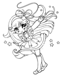 Moonglow ::Open Lineart:: by YamPuff