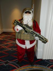 Tactical Santa MAGFest 2018 by bumac
