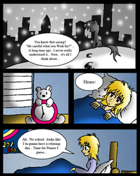 Derpy's Wish: Page 2 by NeonCabaret