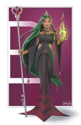 Sailor Pluto Fantasy Redesign by Vylla