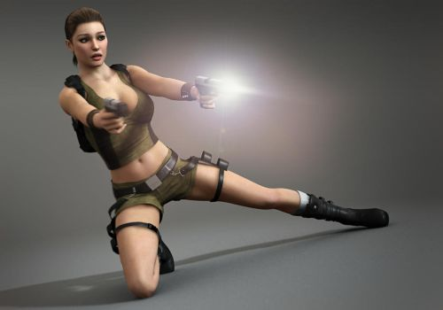 Tomb Raider Denise / Commission for Curia 3 by Torqual3D
