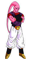 DBUC: Super Buu Colored by darkhawk5