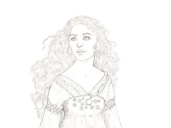 Luthien Tinuviel by Maitia