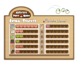 HPM: Melodie's Animal Tracker by Jackalune
