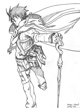 Shiroe  Log Horizon by Megaman-EX
