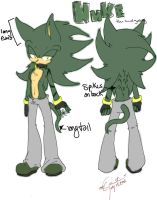 Nuke the Hedgehog Ref. by xl-Jade-lx