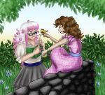 Contest Entry - Akemi and Rori, Spring Butterfly by dragondoodle
