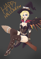 Witch Mercy by a-planning-duo