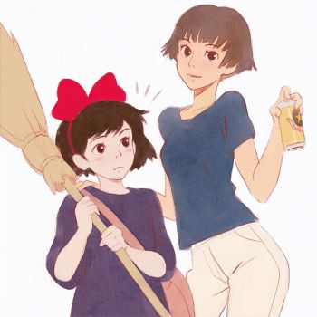Risa and Kiki by Kuvshinov-Ilya