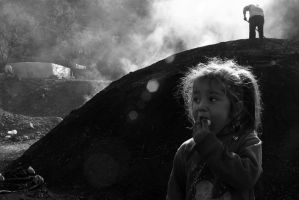 The Charcoal People_two by lishko