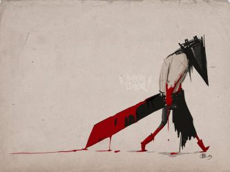 pyramid head by justinnn