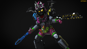 Drago Knight Hunter Z!!! by Zeronatt1233