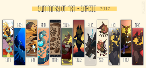 Art Summary 2017 by Sareii