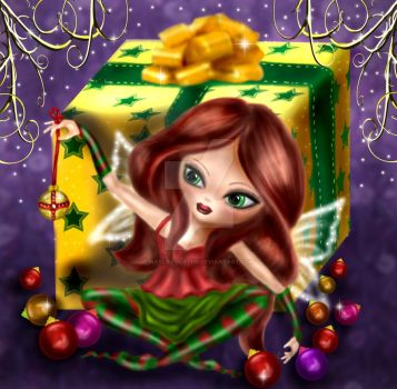 Holiday fae by Hayley-Blythe