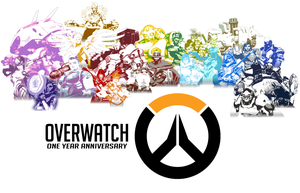 Overwatch One Year Anniversary by JMK-Prime