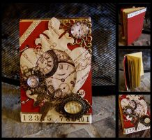 new project steampunk journal by lapetitedeco