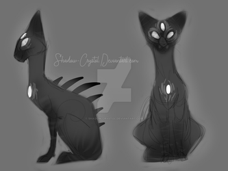 Psychic Cat by Shadow-Crystol
