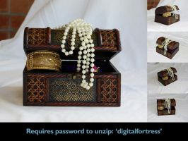 Precious - treasure chest 4 by Eyespiral-stock