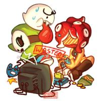 GIF: Nintendy Baddy Game Night by Prochaine