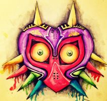 Majora's Mask by Blamberino