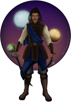 Iswann - The Shield by Yzabel