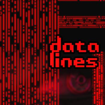Datalines: Brushes by Hybridgothica by hybridgothica