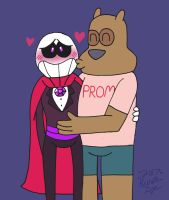 OKKO: BFF Prom Date by sailorlovesong